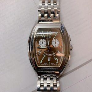 Stainless steel XL men's watch